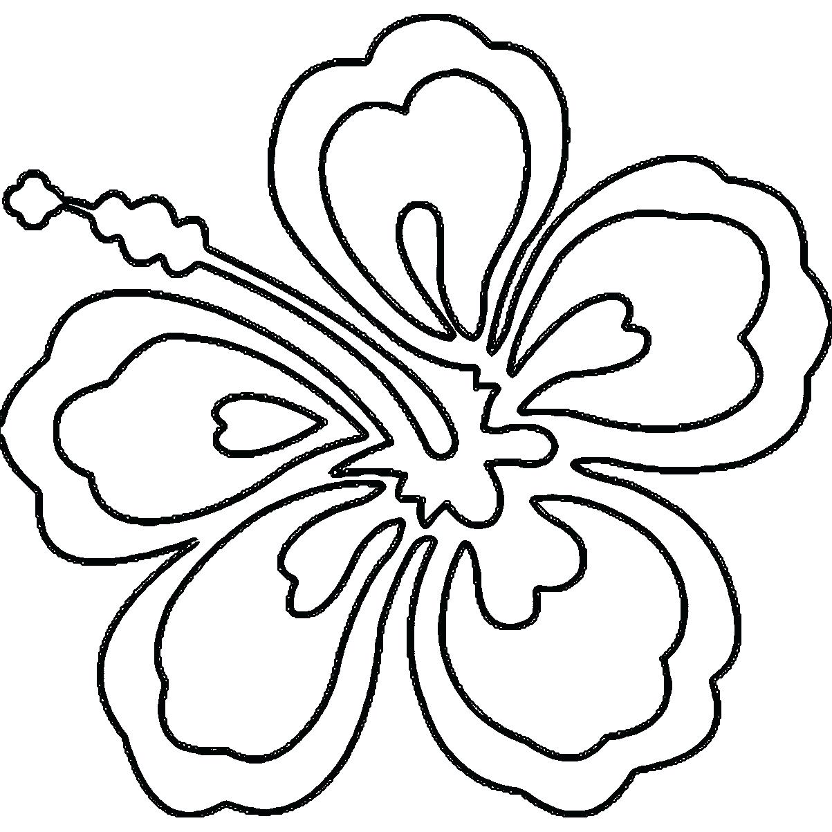 1203x1203 hibiscus flower coloring printable hibiscus flower coloring pages