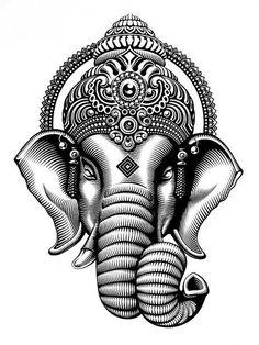 Hindu God Drawing