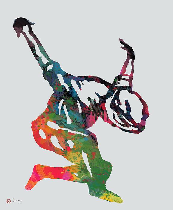 575x700 Hip Hop Street Dancing Pop Art Poster