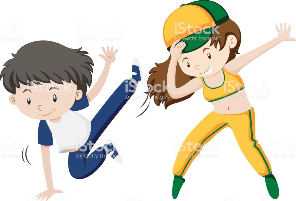 1024x696 Kids Hip Hop Dancing Clipart