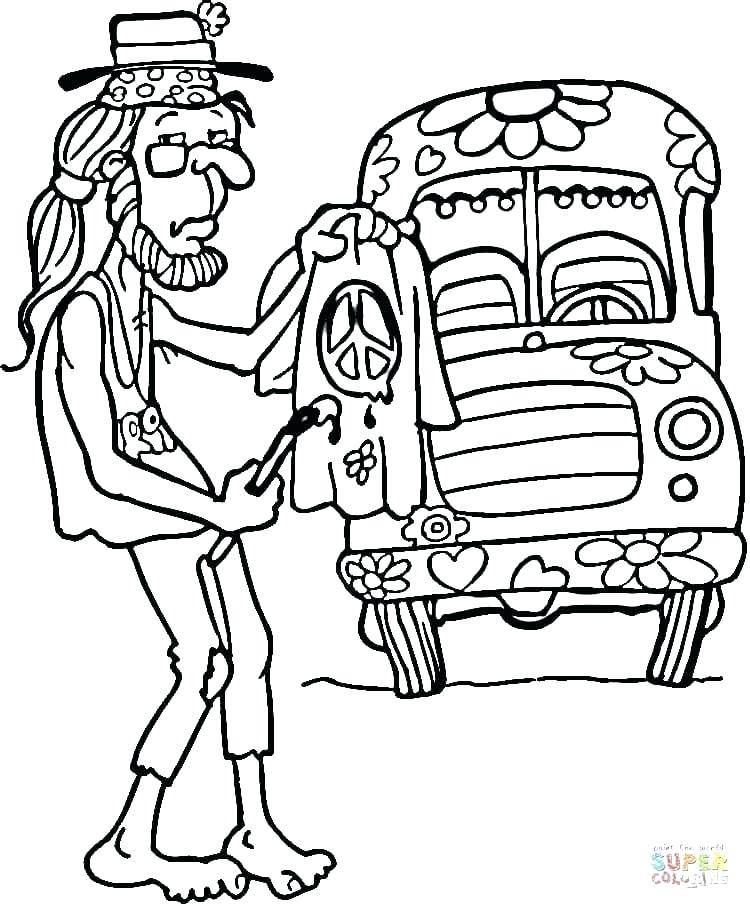 750x909 Coloring Pages Hippie Flower Coloring Pages Color Bros Disney