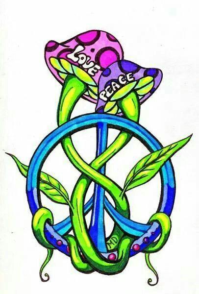 406x600 Feelin' Groovy! Tattoo Ideas Peace, Peace