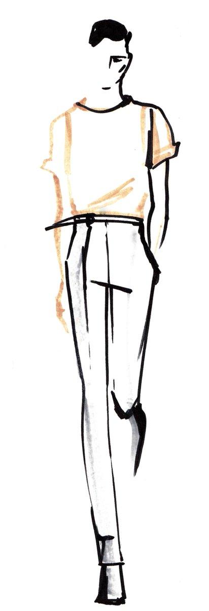 412x1200 Corneliani On Twitter Marina Meliksetova, Fashion Illustrator
