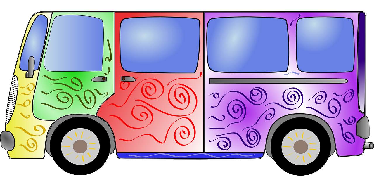 1280x640 Collection Of Free Bus Drawing Retro Download On Ui Ex