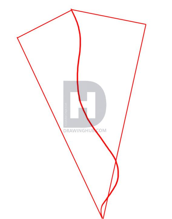 568x720 How To Draw A Tornado, Step