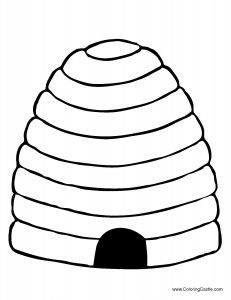 231x300 bee hive quiltables bee coloring pages, bee crafts, bee
