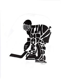 Hockey Net Drawing