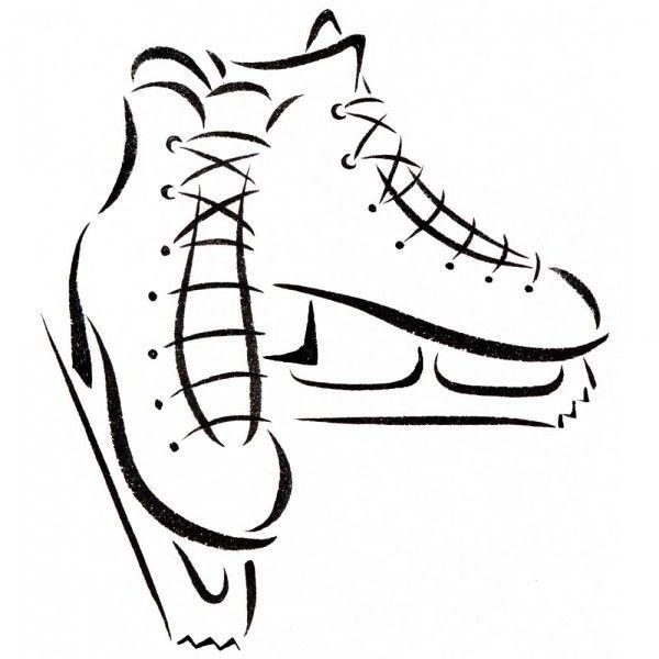 Hockey Rink Drawing