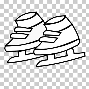 photo about Hockey Skate Template Free Printable called Hockey Skate Drawing Free of charge obtain simplest Hockey Skate