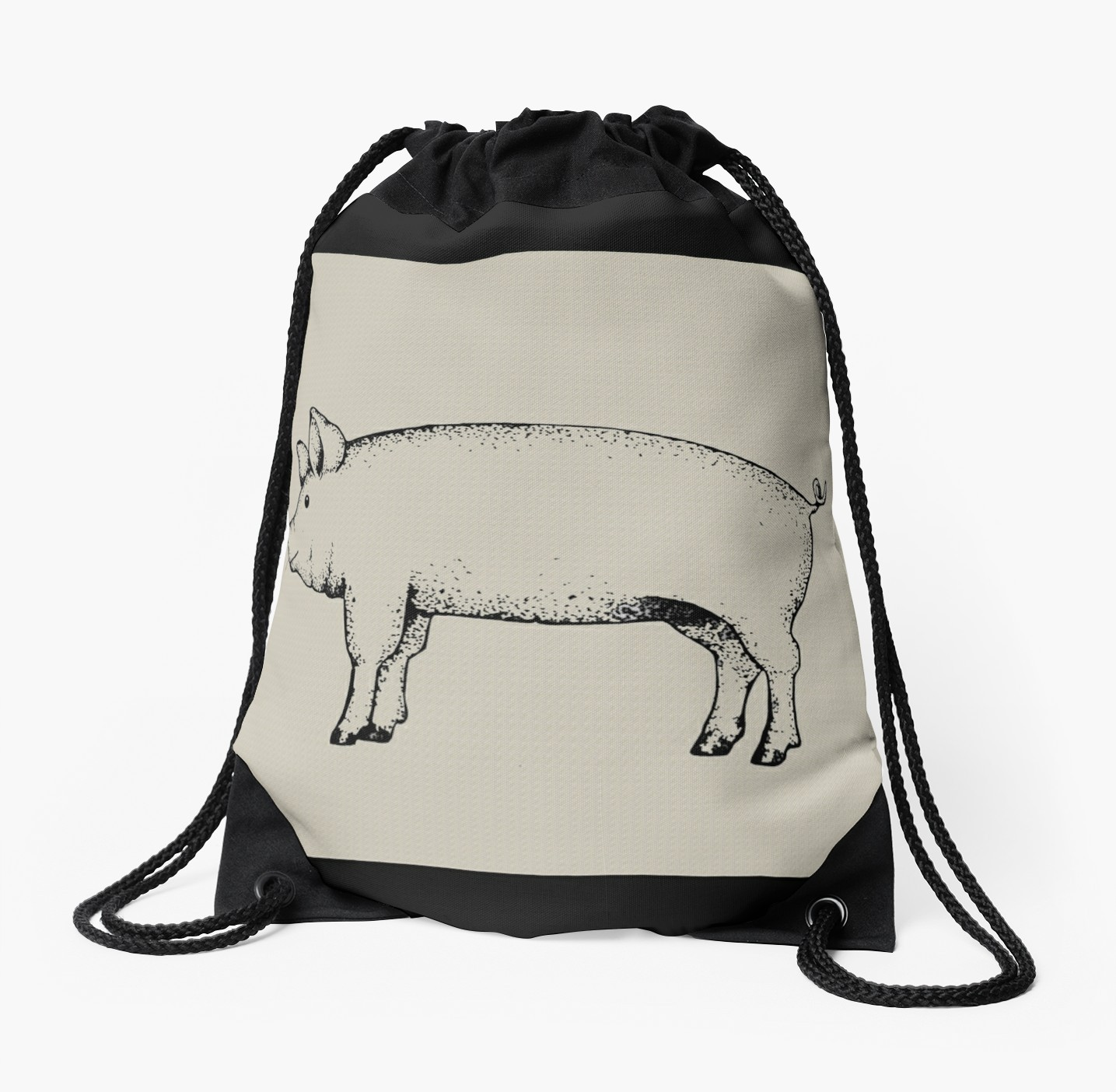 1435x1404 pig outline fresh pig outline art standing pig hog drawing
