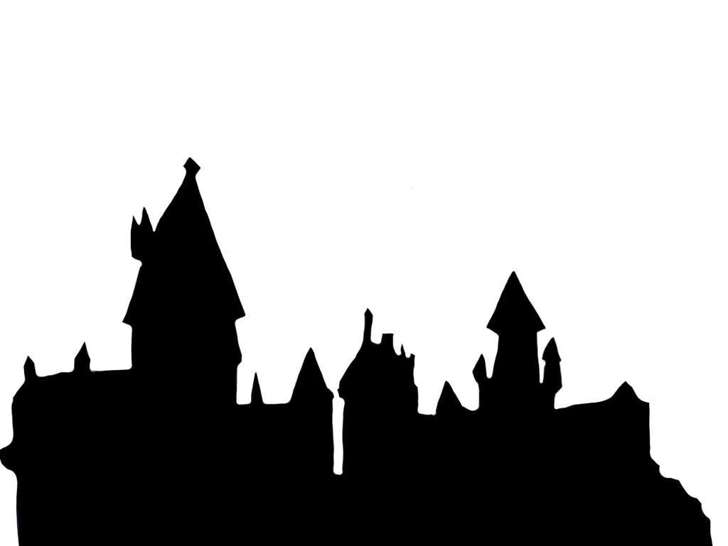 1024x769 Hogwarts Silhouette Drawing Landscape Pictures And Ideas