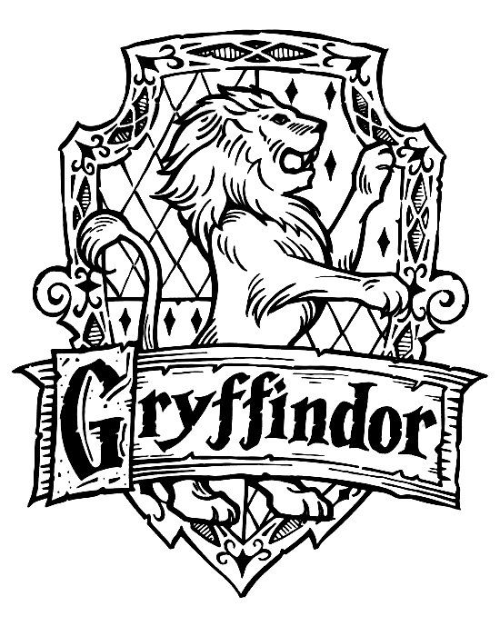 Harry potter gryffindor. Collection of clipart free