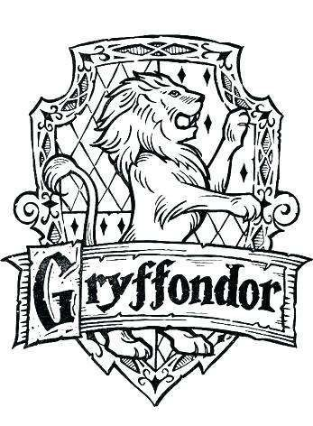 347x472 Harry Potter House Crest Coloring Pages Inspirational