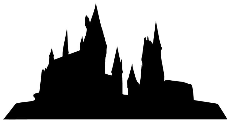736x392 Hogwarts Silhouette Drawing Landscape Pictures And Ideas