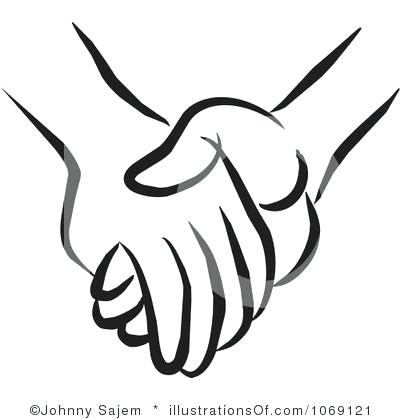 400x420 drawing holding hands silhouette holding hand draw holding hands