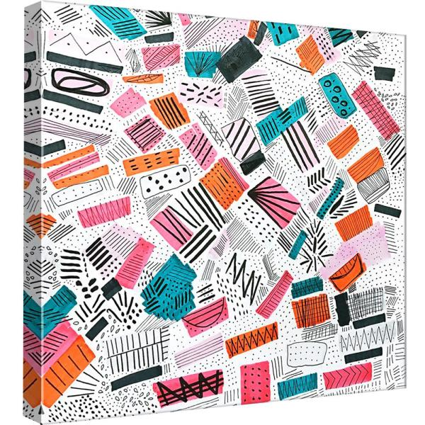 600x600 Ptm Images In X In ''pink Orange Abstract Drawing
