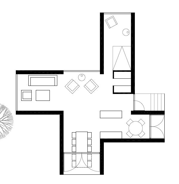 600x615 Eco Chic Home Design Amazing Finland Cabin!