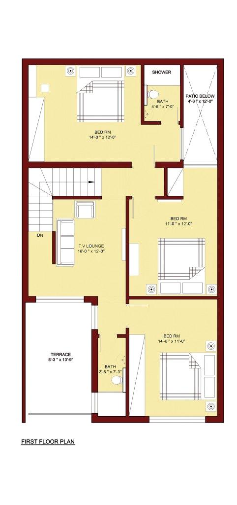 Home Plan Drawing
