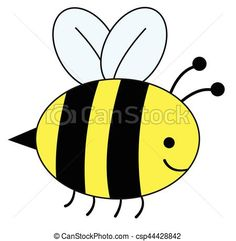 Honey Bee Drawing Images