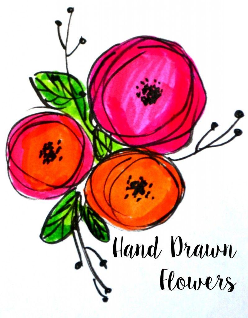 799x1024 basic hand lettering flower embellishments hand lettering how