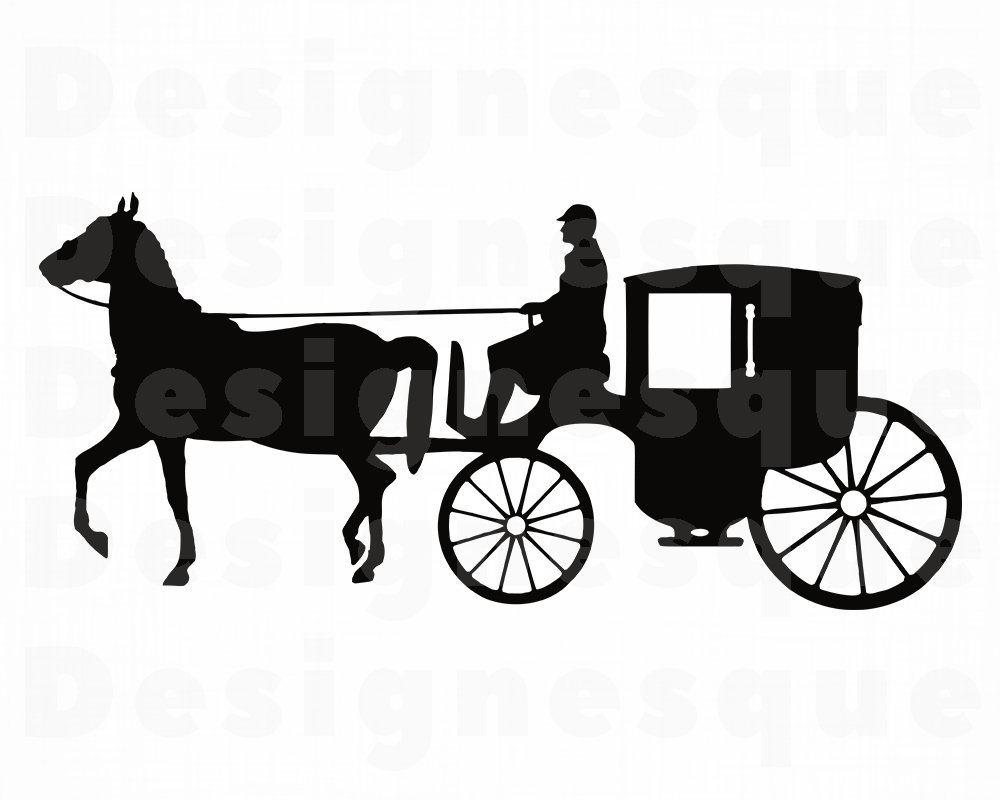 1000x800 horse carriage coach horse carriage clipart horse etsy