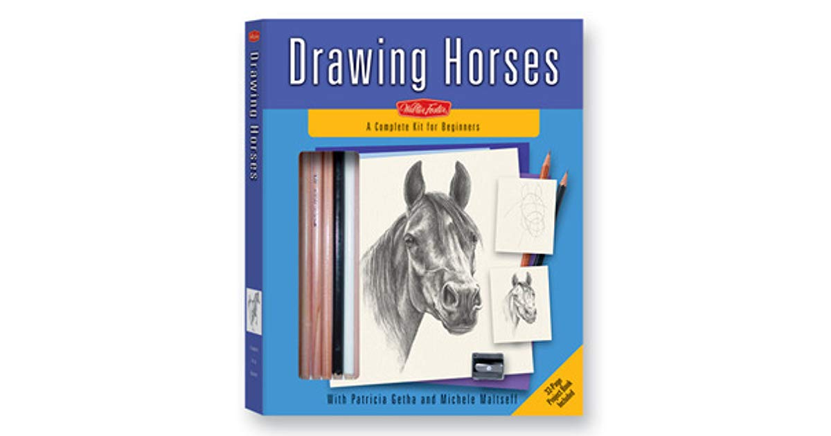 1200x630 drawing horses kit a complete drawing kit for beginners