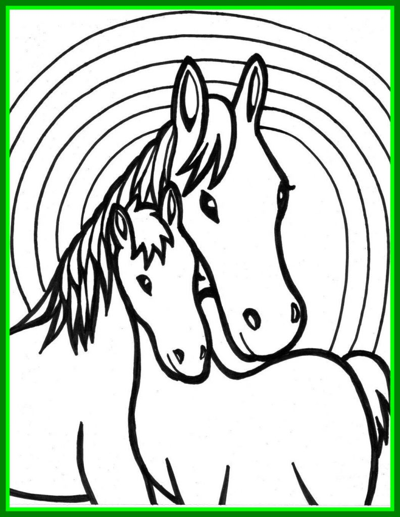 Horse Drawing Pages | Free download best Horse Drawing Pages on ...