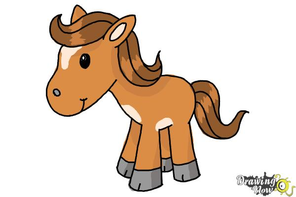 600x400 How To Draw A Horse For Kids