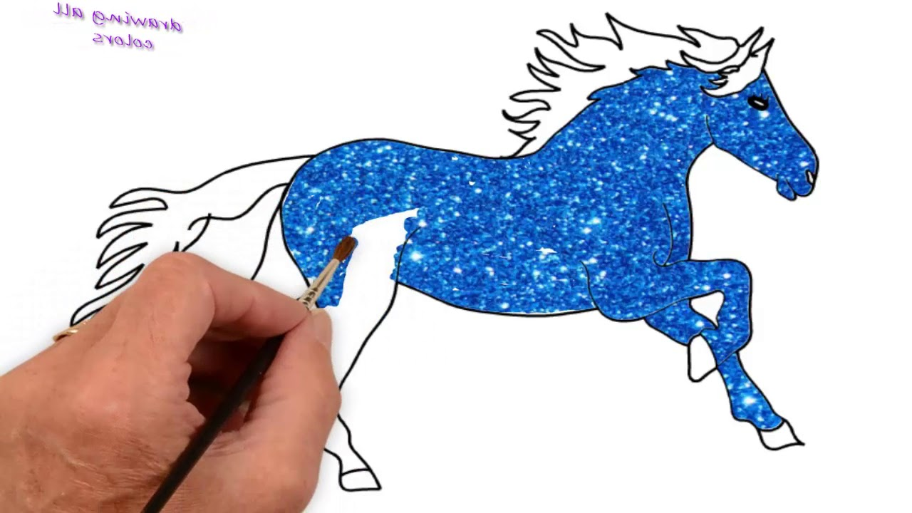 1280x720 How To Draw Horse Step