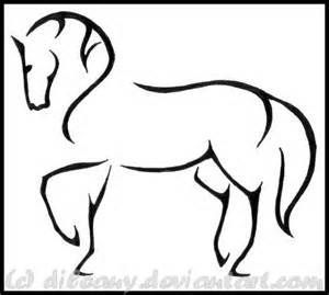 300x269 Image Result For Horse Drawing Simple Cricut Horses, Horse
