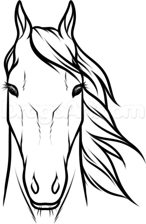 474x724 Easy How To Draw A Horse Head Step