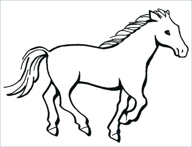 640x489 running horse coloring pages draft horse running