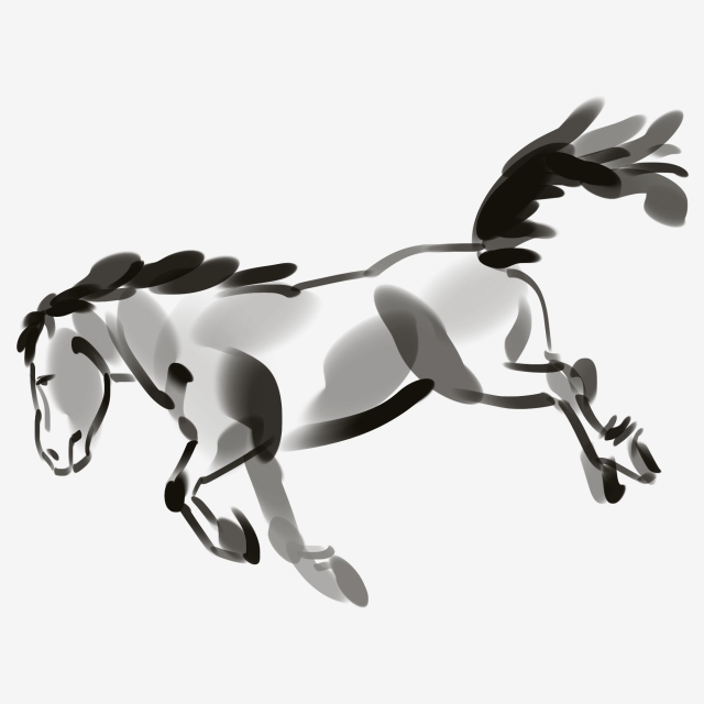 640x640 running steed, pentium, running, fine horse png image and clipart