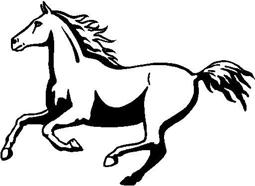 Horse Galloping Drawing