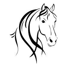 225x225 image result for horse outline image projects with love