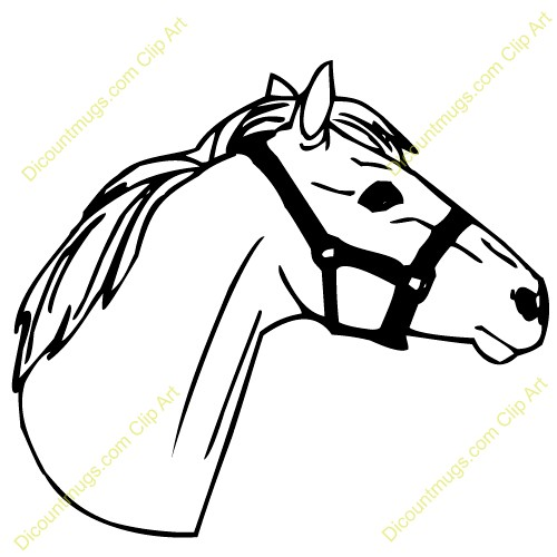 500x500 horse head clipart horse head clip art on horse head clipart