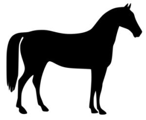 300x247 Free Horse And Pony Clip Art