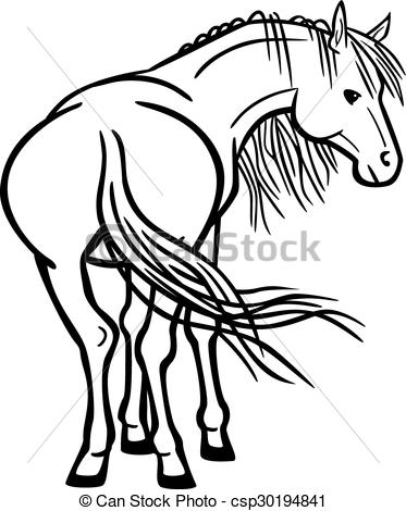 373x470 Clipart Horse Rear Fun Pics Images