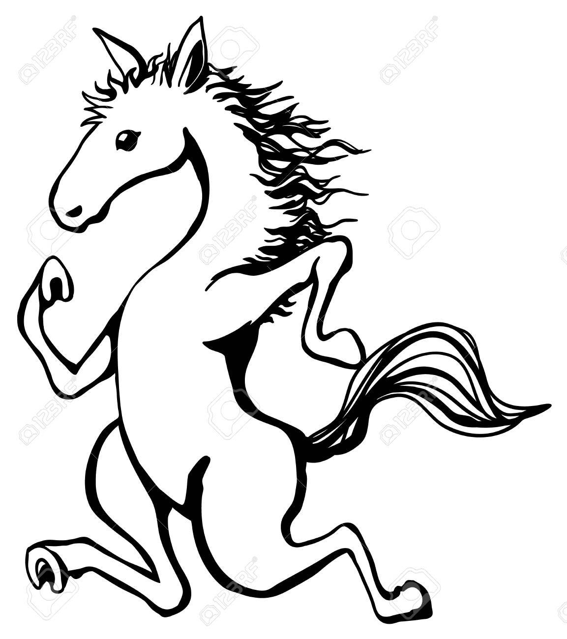 Horse Pictures Drawing Free Download Best Horse Pictures Drawing