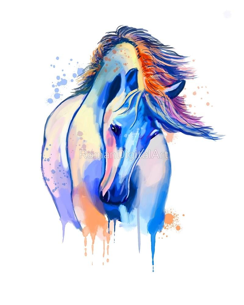800x1000 horse watercolor, horse painting, horse portrait, horse art, horse