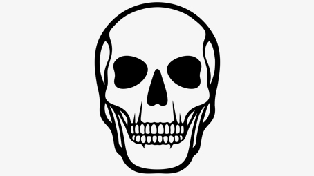454x255 Best Skeleton Coloring Pages For Your Toddler