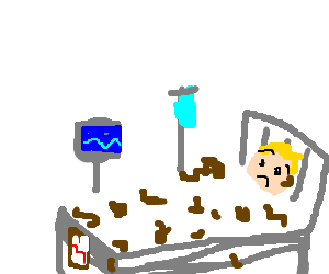 300x250 Drawing Bed Hospital Transparent Png Clipart Free Download