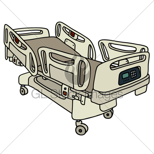500x500 Hospital Position Bed Gl Stock Images