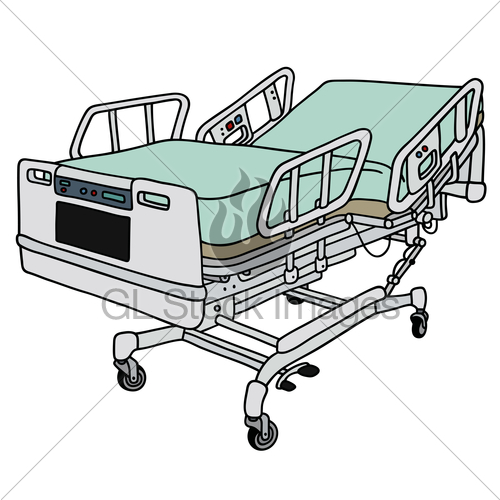 500x500 Position Hospital Bed Gl Stock Images
