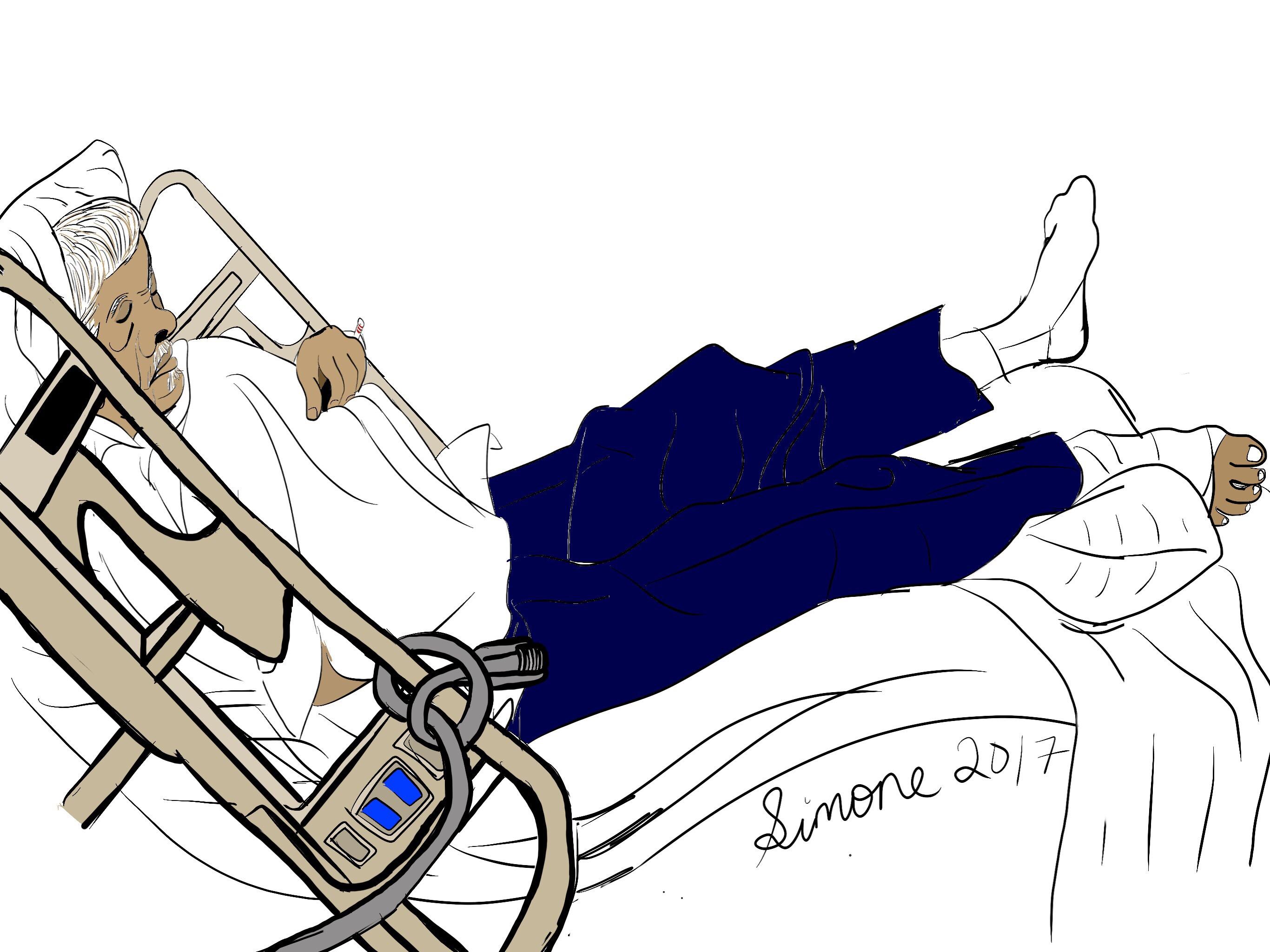 2732x2048 Tenten In Hospital Bed Simones Ipad Art