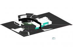 250x160 Under Ground Floor Plan Design Drawing Of Hospital Design Drawing