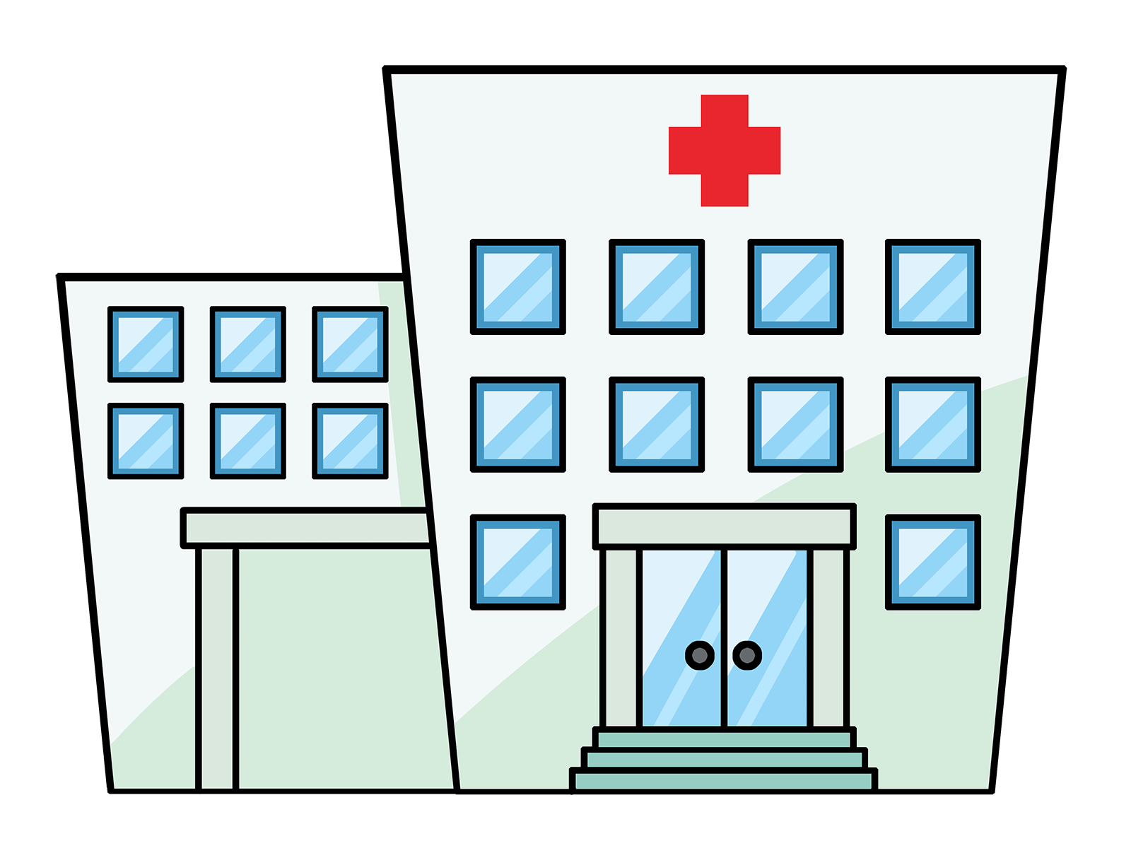 1600x1200 Collection Of Free Background Drawing Hospital Download On Ui Ex