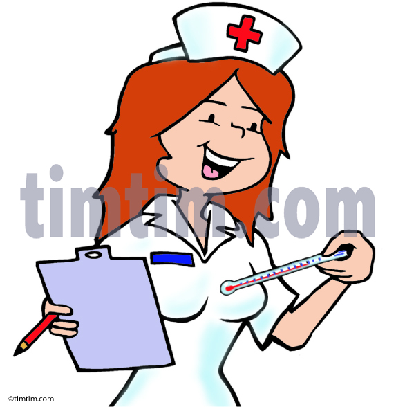 573x588 Free Drawing Of A Nurse From The Category Diet Health