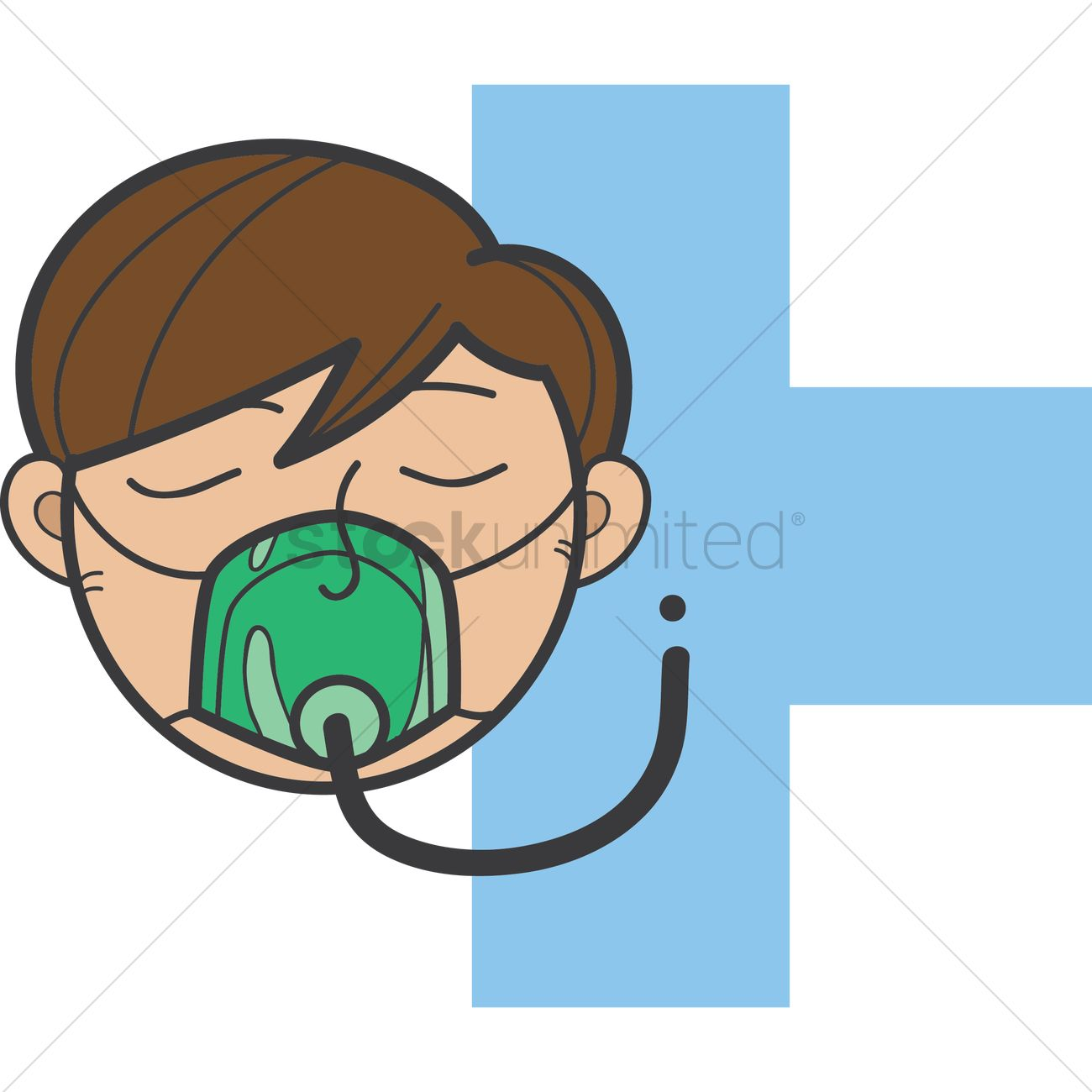 1300x1300 Oxygen Mask Clipart