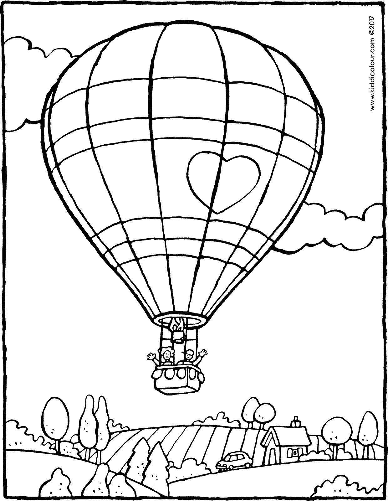 1240x1600 Hot Air Balloon